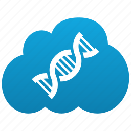 artificial, bilogy, biological, cloud, clouds, cloudy, code, dna, evolution, life, spiral icon
