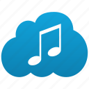music, cloud, sound, itunes, audio, compose, mp3, note, player