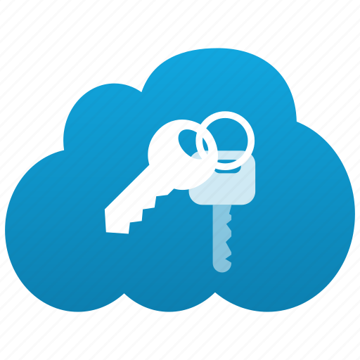 cloud, keylock, keys, locker, login, password, personal, private, protection, secure, security icon
