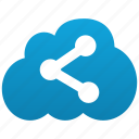 cloud, connections, distribution, file sharing, links, mlm, network, offer, piracy, share, sharing icon