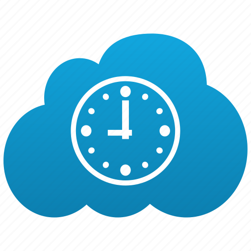 alarm, calendar, clock, cloud, date, event, time, timestamp icon