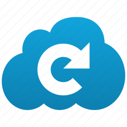 cloud, refresh, reload, renew, sync, update icon