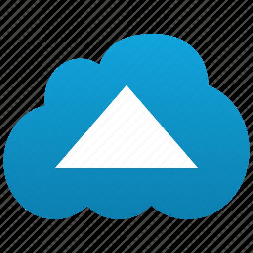 arrow, cloud, enter, entrance, gate, up, upload icon