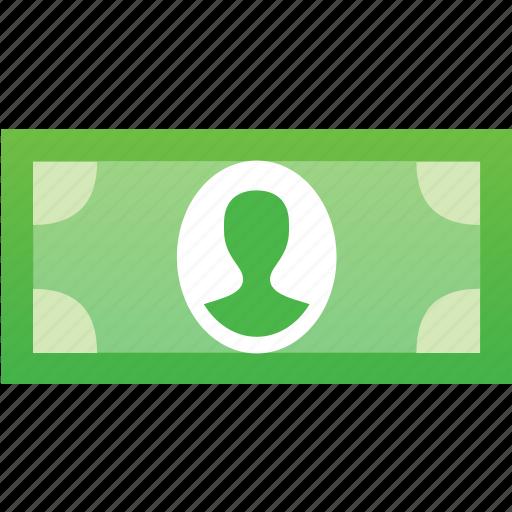 banknote, business, cash, dollar, finance, money icon
