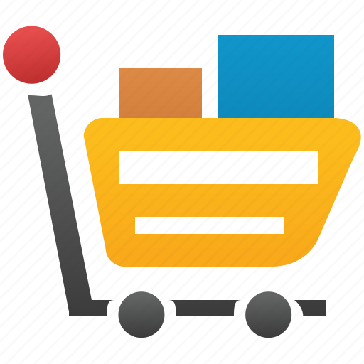 basket, buy, cart, ecommerce, goods, order, purchase, sell, shipping, trade, webshop icon