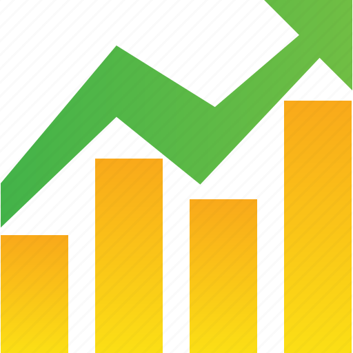 bar, chart, diagram, earn, economics, finance, graph, growth, report, statistics icon