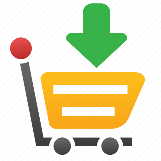 add product, basket, buy, cart, put, shopping, webshop icon