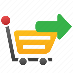 basket, buy, check out, proceed, process, purchase, shopping icon