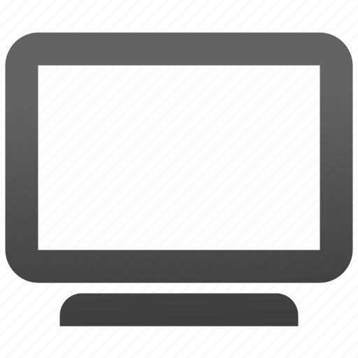 computer, display, monitor, movie, screen, tv, video icon