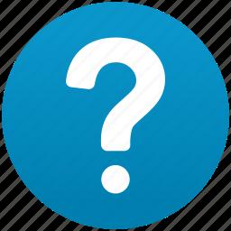 faq, help, mark, query, question, support, talk icon