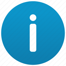 about, faq, help, helpdesk, hint, info, information icon