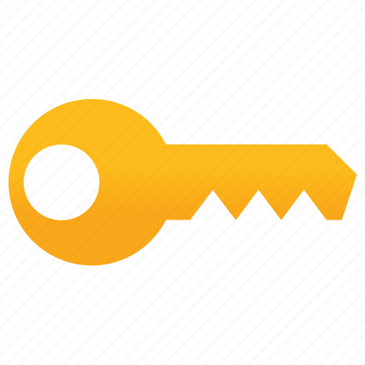 access key, lock, locked, password, protection, security, unlock icon