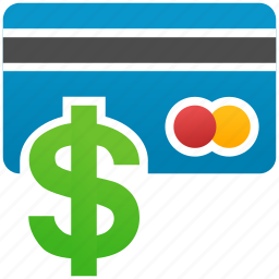 banking card, business, cash, credit, dollar, money, shopping icon