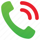 answer, bell, call, phone, ring, talk, telephone icon