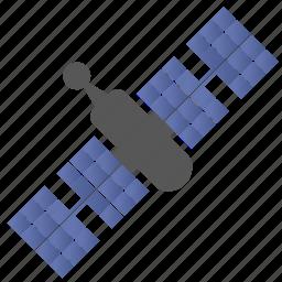 communication, cosmos, gps, internet, satellite, space station, sputnik icon