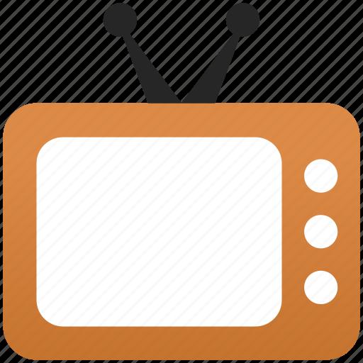 air tv, broadcasting, display, monitor, screen, television, tv antenna icon