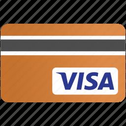 bank, banking card, cards, credit, credit card, payment, visa card icon