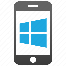 cell, cellphone, microsoft, mobile, telephone, window, windows phone icon