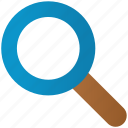 explore, find, finder, magnifying glass, search, view, zoom icon