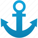 anchor, link, marine, port, sea, seaport, url icon