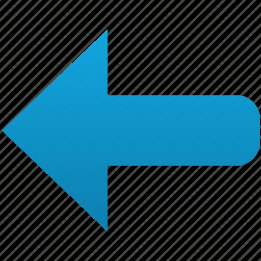 arrow, arrows, back, before, left, previous, undo icon