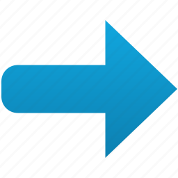 follow, following, forward, move, next, right, send icon