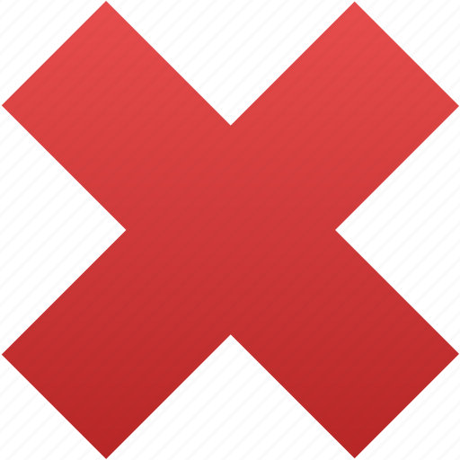 Cancel, close, delete, exit, remove, cross, x icon - Download on Iconfinder