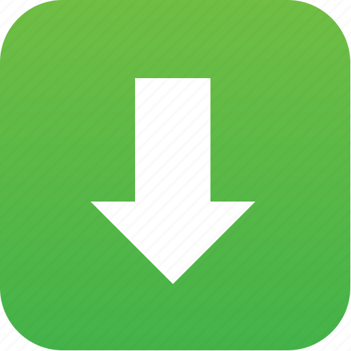 arrow, down, down button, download, downloads, guardar, load, save icon