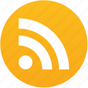 feed, internet, news, rss button, subscribe, web icon