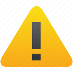 alarm, alert, attention, caution, danger, exclamation, warning icon