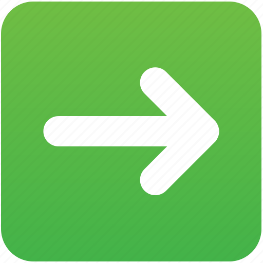 follow, following, forward, move, next, previous, right icon
