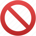 close, closed, entry, forbidden, no, no entry, restriction icon