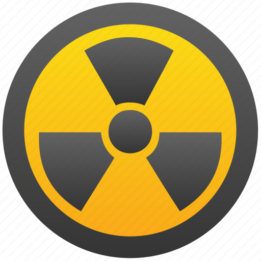Nuclear, radiation, radioactive, explosion, danger, bomb, atom icon - Download