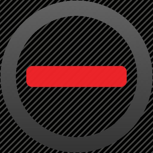 brick, delete, forbidden, minus, remove, restricted, stop icon
