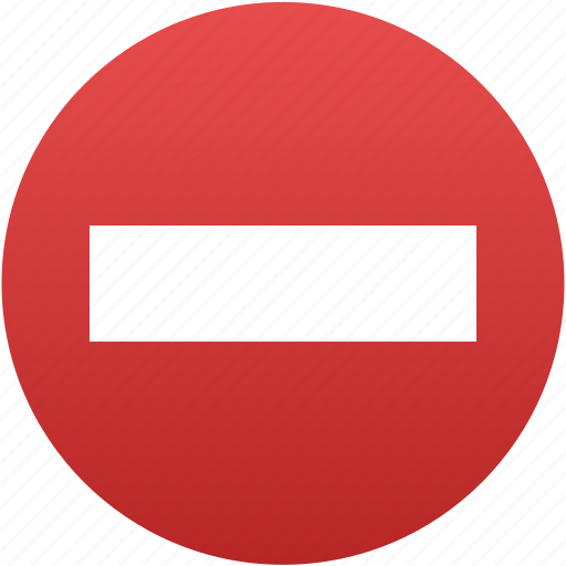 cancel, close, danger, forbidden, no entry, stop icon