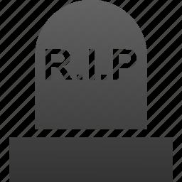 cemetery, church, dead, death, funeral, grave, rip icon