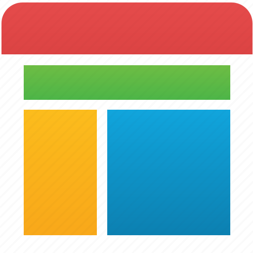 application, browser, form, frame, interface, template, window icon