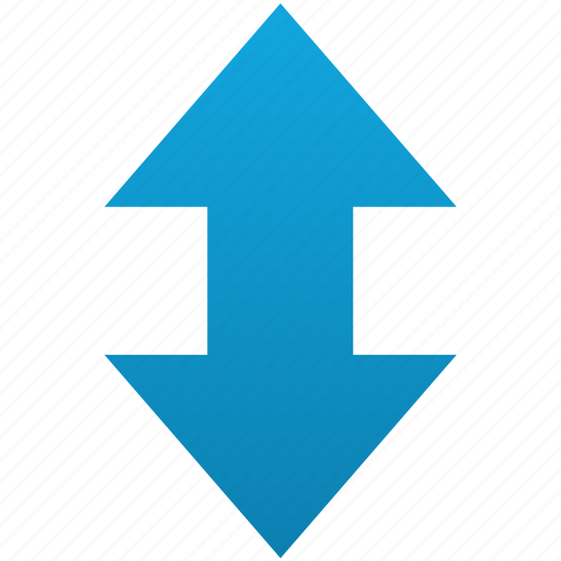 arrows, exchange, flip, reload, replace, up-down, vertical icon