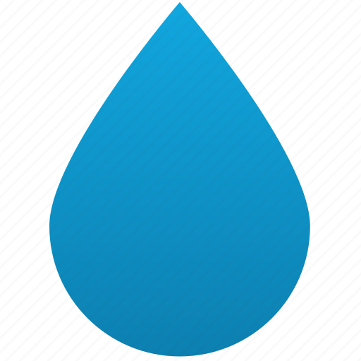 clean, clear, liquid, oil, rain, water drop icon