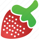 fruit, healthy, nutrition, sexy, strawberry, sweet icon