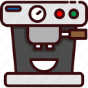 cafe, coffee, fast, food, kitchen, machine icon