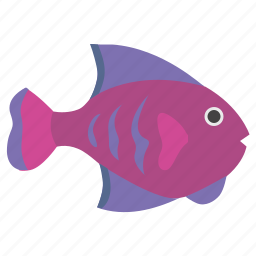 aquarium, breath, decorative, fish, type icon