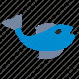 bend, fingerling, fish, underwater icon