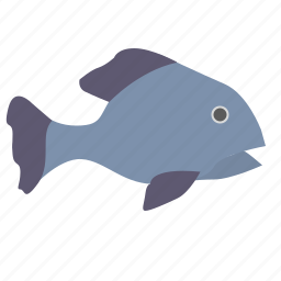 fingerling, fish, ugly, underwater icon
