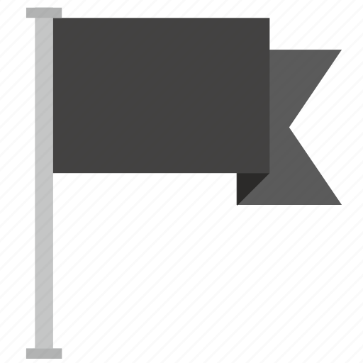 dark, flag, location, poi, point icon