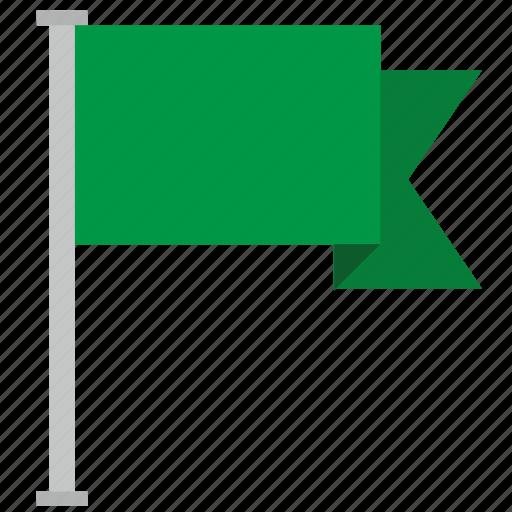 flag, green, location, poi, point icon