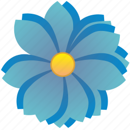 flora, flower, nature, spring icon