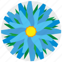 complex, flora, flower, nature icon