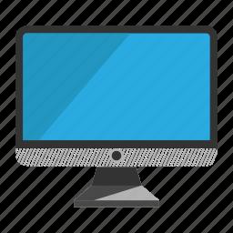 computer, desktop, monitor, screen icon