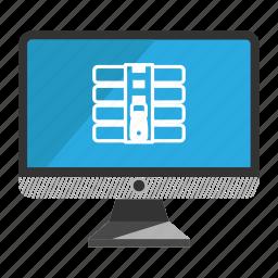 archive, computer, desktop, monitor, screen icon